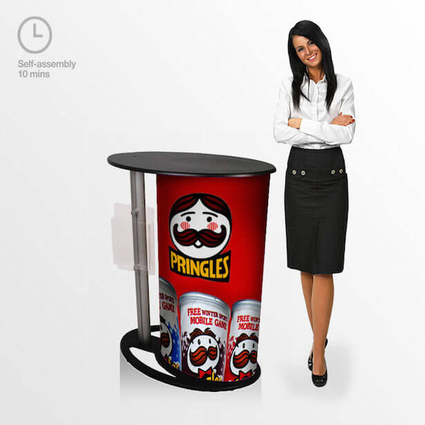 Promotional Marketing Counter