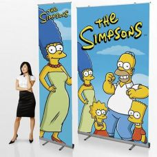 Tall Pull Up Banner Stands