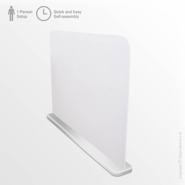 Office Desk Divider Plain