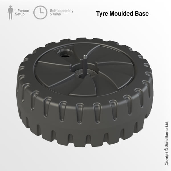 Tyre Moulded Base