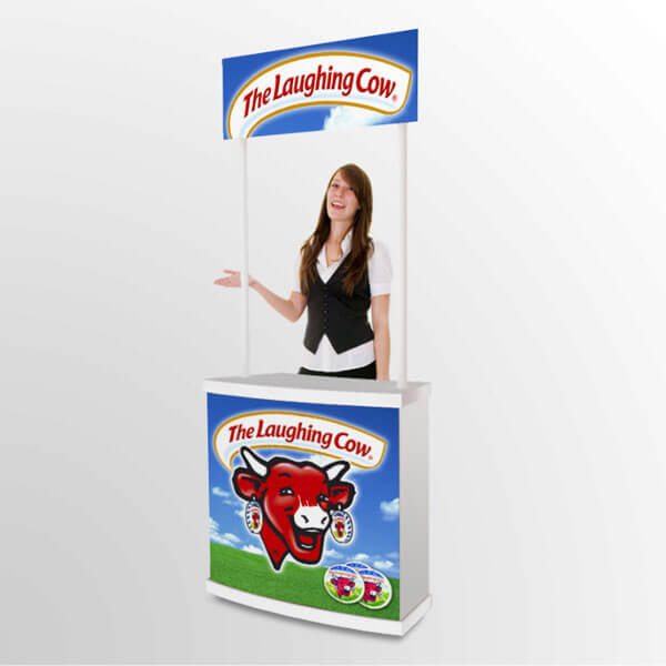 Marketing Exhibition Stand Yet : Product display marketing stand portable sampling tasting