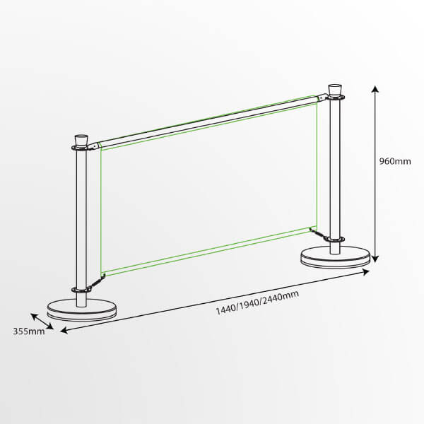 Cafe Banner Dimensions