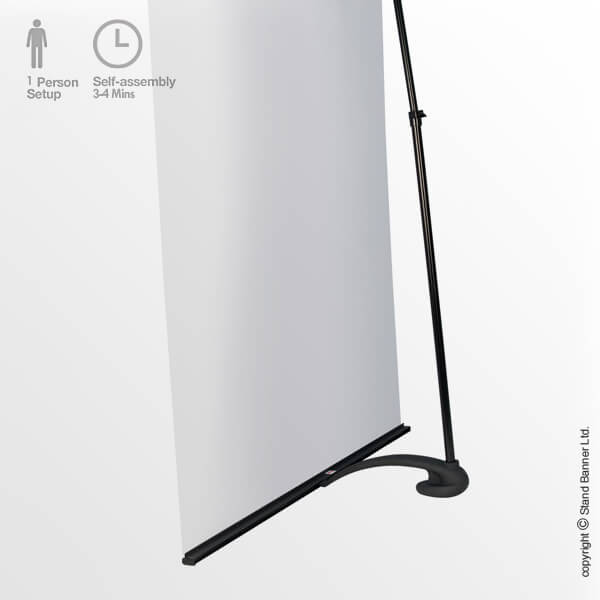 Uno Linkable Roll Up Banner Back