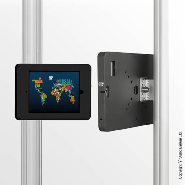 TV Exhibition Display iPad Enclosure