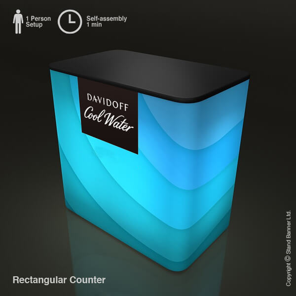 Portable Illuminated Promo Counter 2
