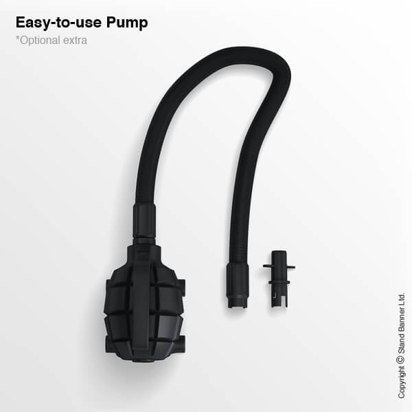 Pump for Portable Inflatable Counter