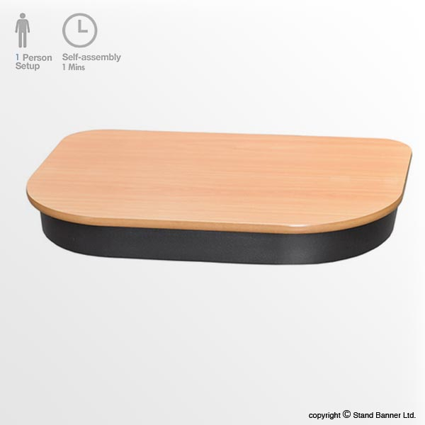Pop Up Case Wood Top