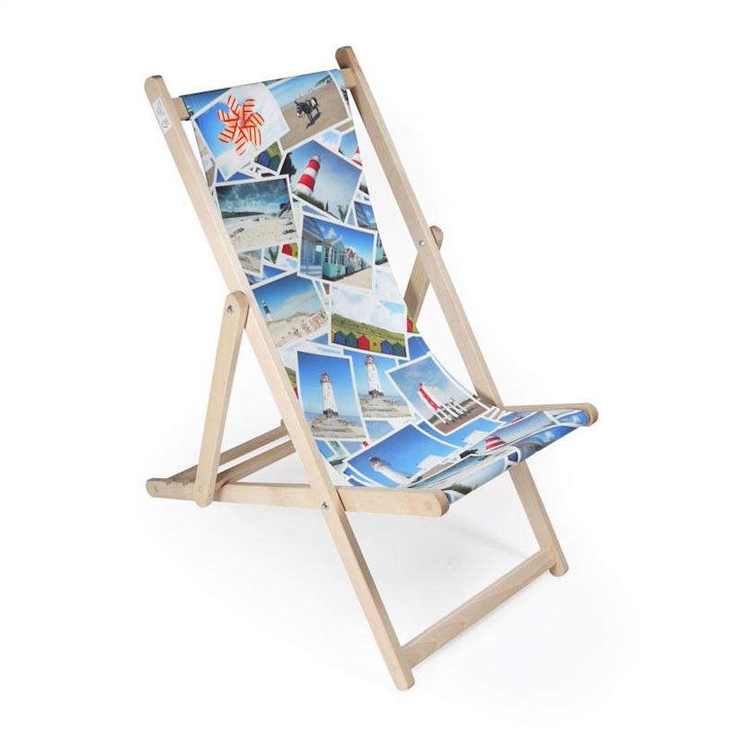 Printed Deck Chair