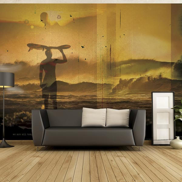 Custom Printed Wall Murals