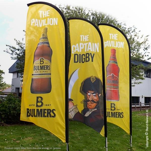 Outdoor Advertising Flag Banners