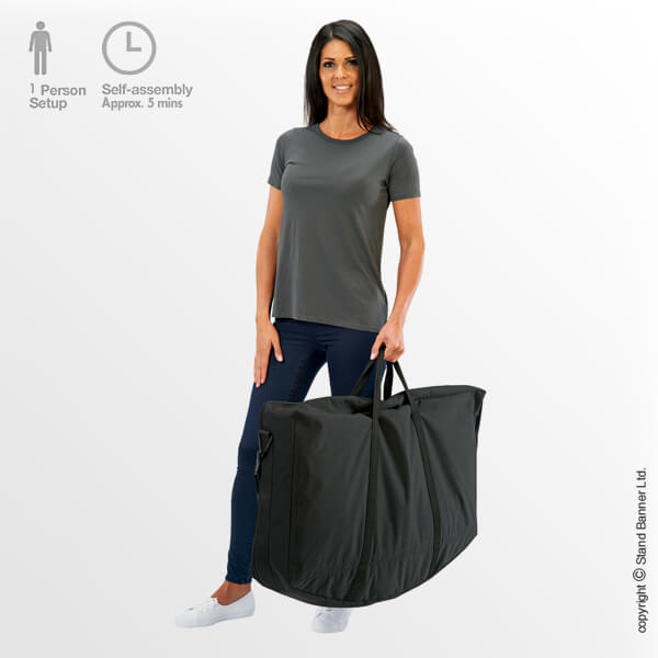 Portable Reception Counter Carry Bag