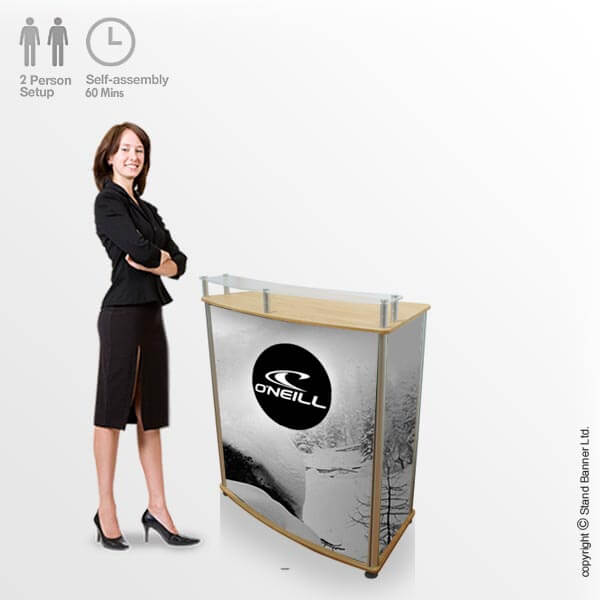 Portable Marketing Counter Display