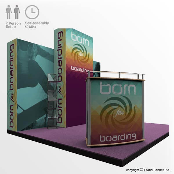 Marketing Exhibition Stand Uk : Portable marketing trade show stand m display system