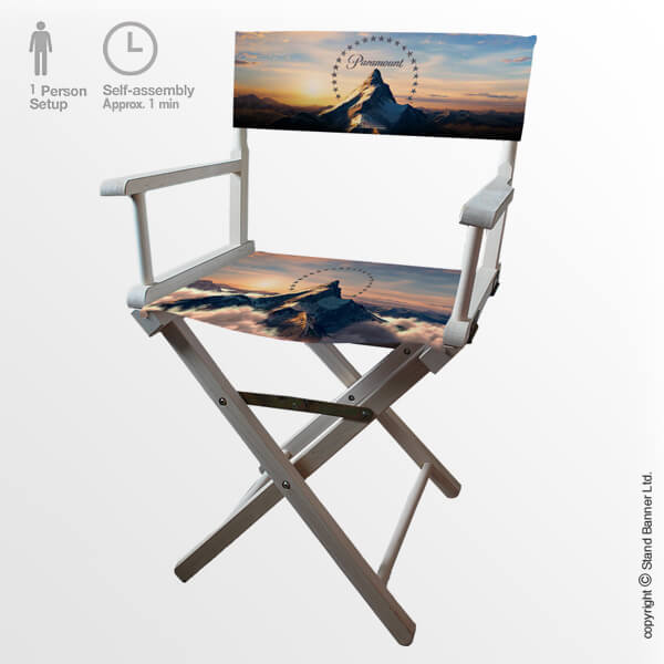 Printed Directors Chair