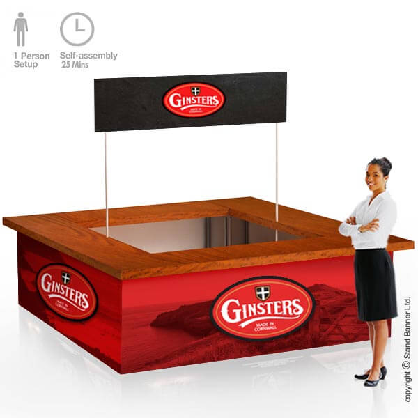 Potable Event Sales Counter Vending
