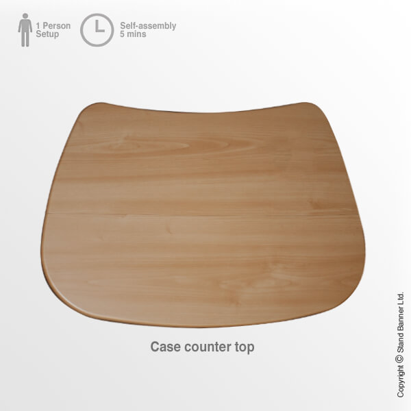 Linking Exhibition Storage Case Counter Top