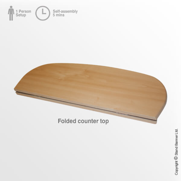 Linking Exhibition Storage Case Counter Folded Top