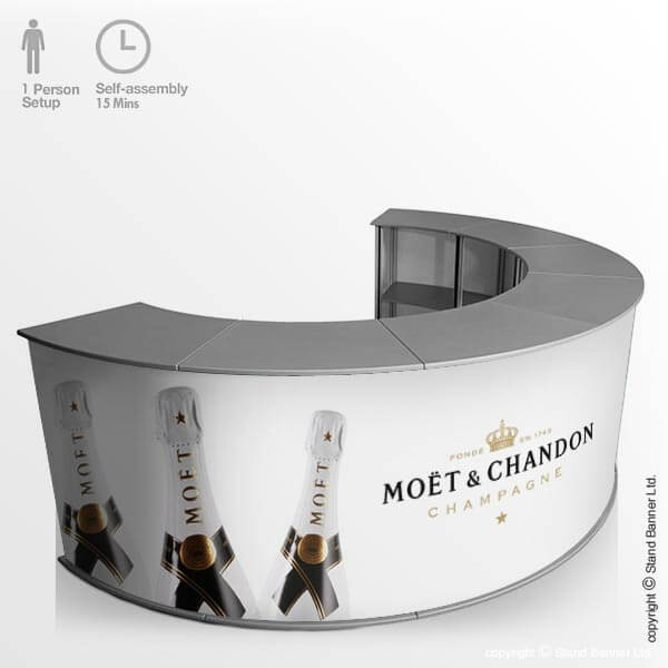 Portable Promo Bar Counter