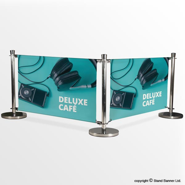 Kit2 - Deluxe Cafe Barrier 1.2m Wide