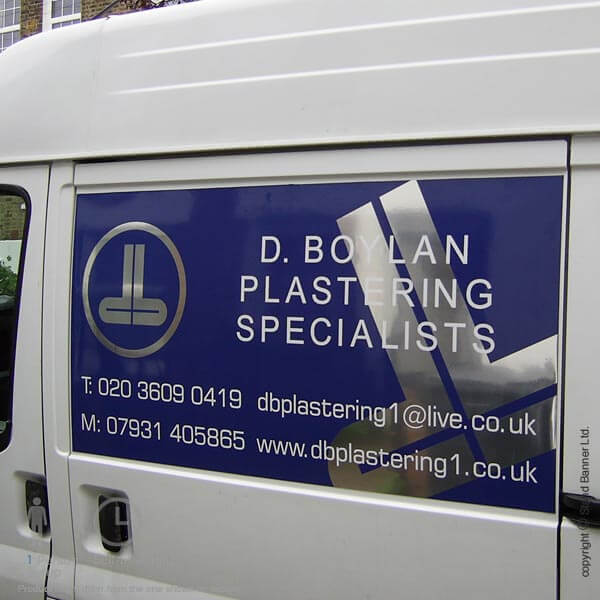 Magnetic Van Graphics