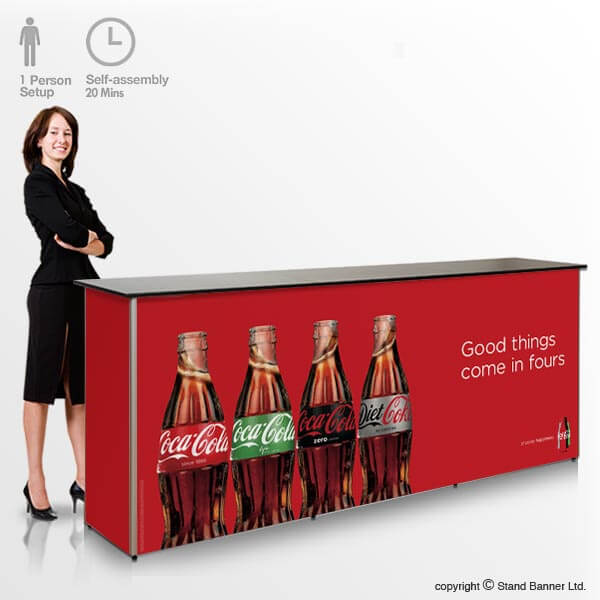 Portable Sales Counter Display