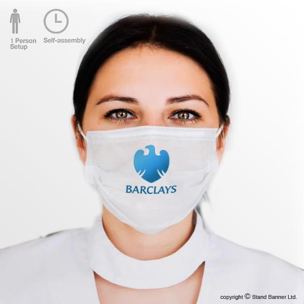 Branded Retail Virus Face Mask