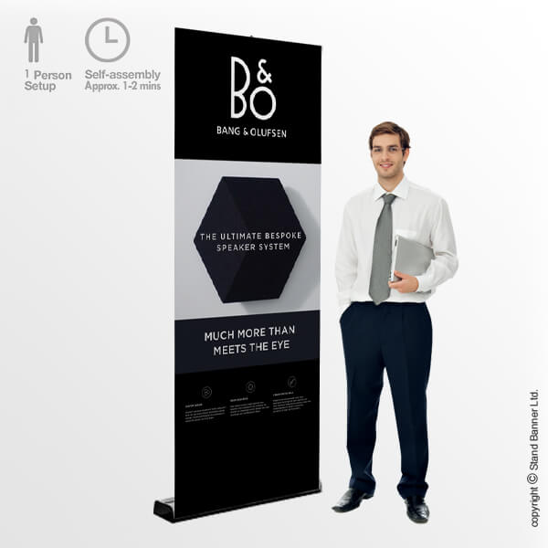 Sidewinder Roll Up Exhibition Banner Stand