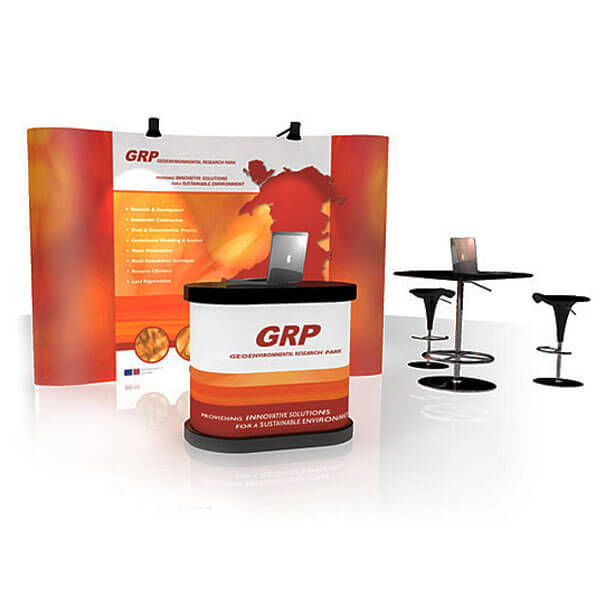 Exhibition Pop Up Stand Designs