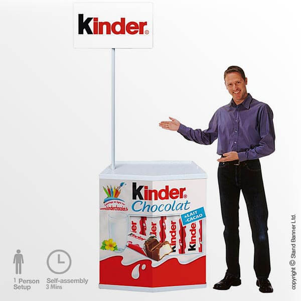 In-store Sampling Counter Stand