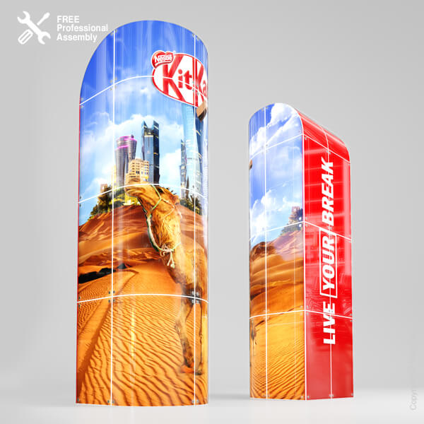 Premium Retail Display Tower LED