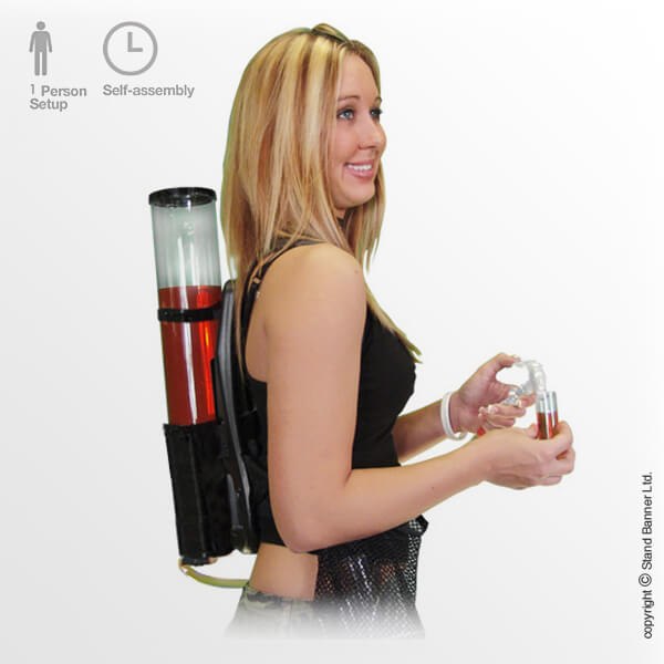 Backpack Drinks Dispenser