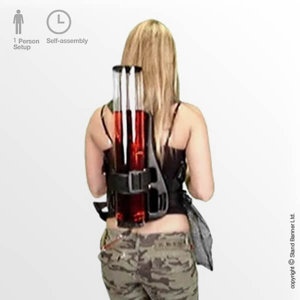 Backpack Drinks Dispenser Back