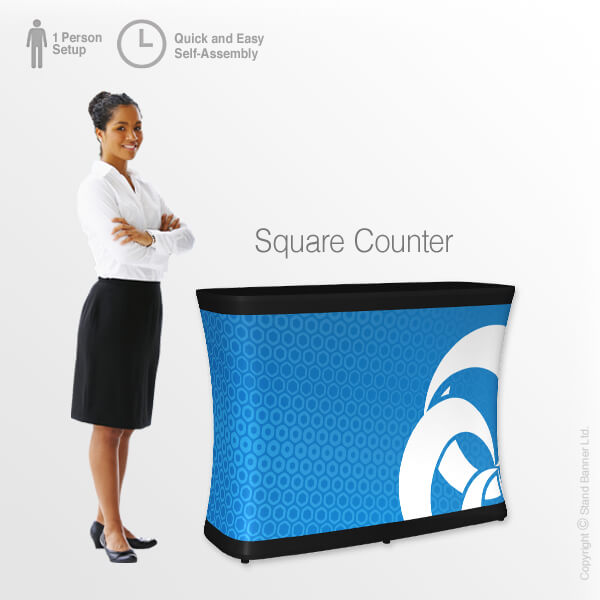 Custom Branded Inflatable Counter