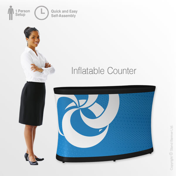 Custom Printed Inflatable Counter