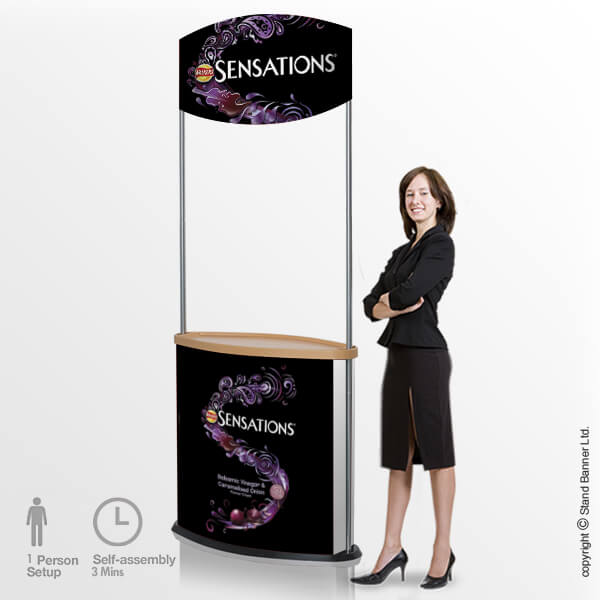 Exhibition Counter Display Stand