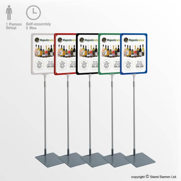 Point Of Sale Sign Stand