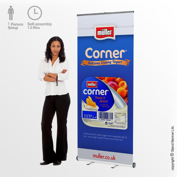 Roll Up Banner Stands & Pop Up Banner Stand Displays | Stand