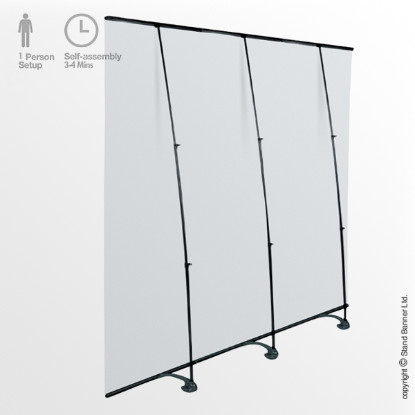 Linkable Roll Up Backdrop Display