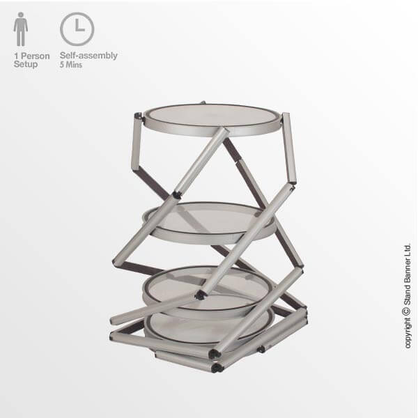 Assemble Product Display Tower