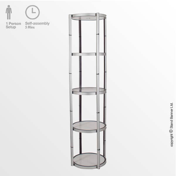Product Display Tower Frame