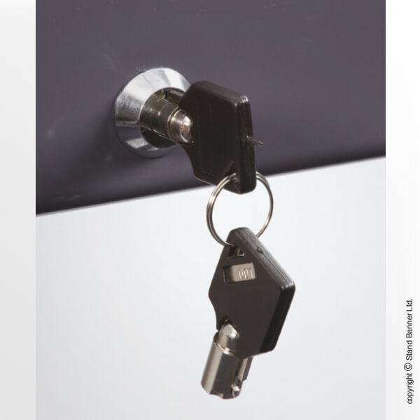 Post Mounted Frame Sign Lock
