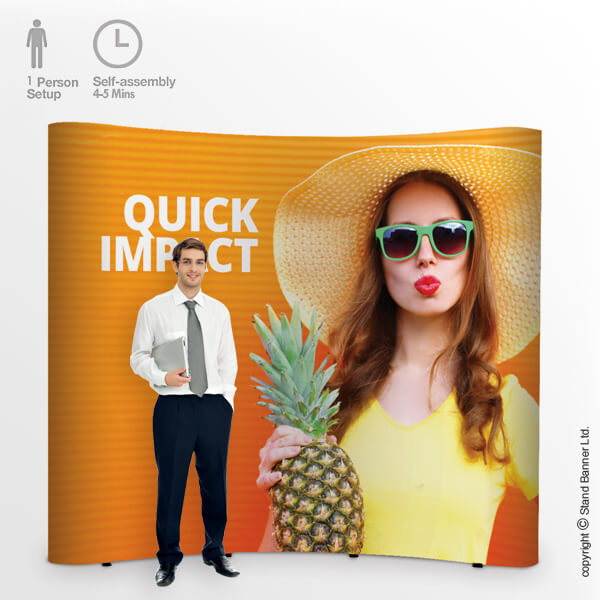 Ultima Impact Pop Up Display Stand
