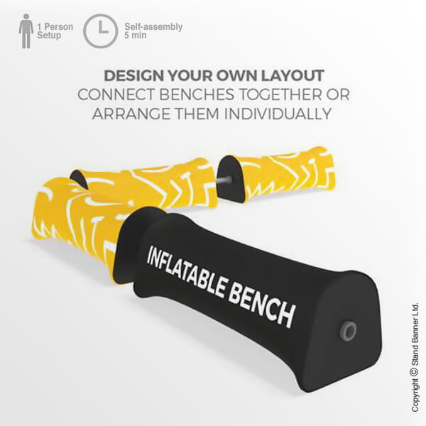 Printed Portable Seating Linked