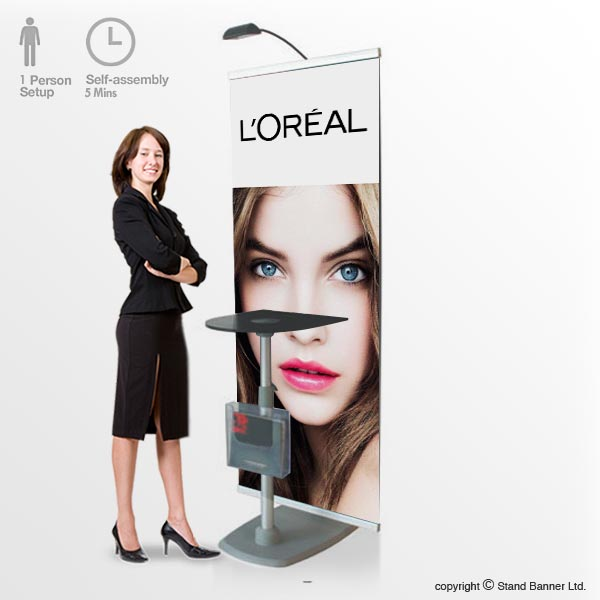 Promotion Backdrop Display Stand Banner