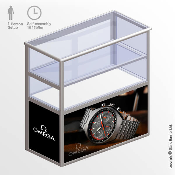Exhibition Display Case Model 3