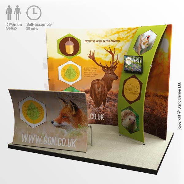 Promotional Event Display Stand