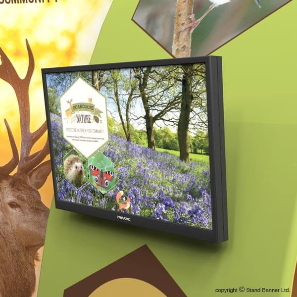Event Display Stand Video Screen