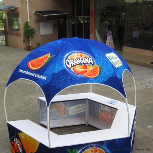 Portable Tent Kiosk Vending Advertising Gazebo Frame