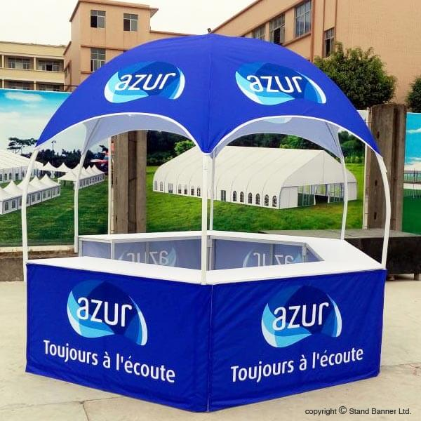 Branded Portable Vending Sales Shelter