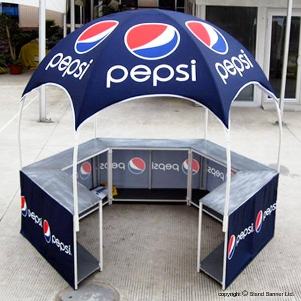 Mobile Vending Event Gazebo Tent